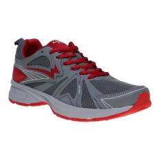 Spesifikasi Eagle Sting Sepatu Lari Grey Red Online