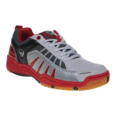 Eagle Super Ace Sepatu Badminton - Putih-Merah