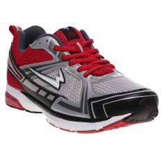 Iklan Eagle X Cell Sepatu Lari Pria Merah Silver