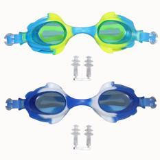 Beli Eelic Kar 2800 2 Pcs Kuning Biru Kaca Mata Renang Anak Usia 2 7 Tahun Eelic Online