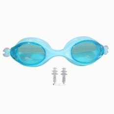 EELIC KAR-9700 BIRU MUDA Kaca Mata Renang Anak Usia 2 - 7 Tahun