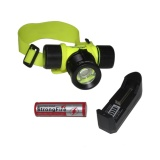 Eelic Las Dxq5688 Hitam 1 Pcs Lampu Senter Kepala Diving Dan Baterai Charge 688 Headlamp Led 3 Watt Waterproof Ip68 Eelic Diskon 30