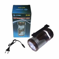 Promo Eelic Las M88 Coklat Lampu Senter Lentera Tarik 1W 7Led Emergency Eelic Terbaru