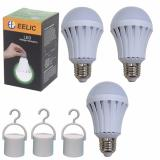 Jual Eelic Led Lau E7W 1 Isi 3Pc 220V E27 Lampu Intelligent Emergency Darurat