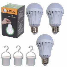 Spesifikasi Eelic Led Lau E7W 1 Isi 3Pc 220V E27 Lampu Intelligent Emergency Darurat Yg Baik