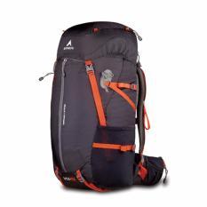 Eiger Tas Gunung Pria Eliptic Solaris 45L - Hitam Orange