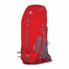 Eiger Tas Gunung Pria Excelsior 75+15L Borneo - Merah Abu
