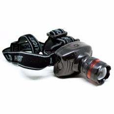 Eigia Lampu Headlamp Telescopic 3W Senter Kepala s7257 - Black