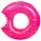 Review Eigia Pelampung Kolam Renang Bentuk Donat D120 Cm Ban Berenang Main Air Santai S1115 Pink