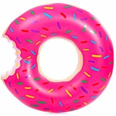 Harga Eigia Pelampung Kolam Renang Bentuk Donat D120 Cm Ban Berenang Main Air Santai S1115 Pink Yang Bagus