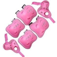 Elba Deker Pelindung Lutut dan Siku Anak - Pink
