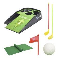 Era Golf Bola Golf Club Golf Meja dengan Bendera Sport Permainan Mainan untuk Anak anak
