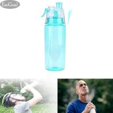 Esogoal Leak Proof Sports Spray Mist Air Pendingin Botol Minum Plastik Botol For Latihan Bersepeda Menjalankan Bersepeda 600 Ml Esogoal Diskon 30