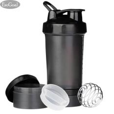 EsoGoal Protein Blender Kebugaran Botol Powder Shaker Cup Mixer dengan 3 Lapis Twist dan Lock Storage, 100% BPA Free Leak Proof Spo-Intl