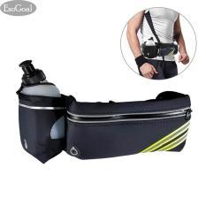 Spesifikasi Esogoal Running Belt With Water Bottle Waterproof Waist Pack For Men And Women Universal Size To Hold Cell Phone Wallet And Keys Esogoal Terbaru