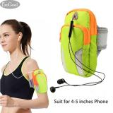 Jual Esogoal Sports Armband Men Women Running Bag Arm Bag Waist Pouch Armbag Neck Pouch Pack Bag Etc For Running Cycling Hiking Camping Travel Workout Black Suit For 4 5 Inches Phone Tiongkok