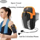 Beli Esogoal Olahraga Armband Kantong Multifungsi Workout Menjalankan Armbag Dan Pendinginan Handuk Untuk Olahraga Fitness Gym Yoga Pilates Camping Lainnya Nyicil