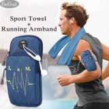 Iklan Esogoal Olahraga Armband Kantong Multifungsi Workout Menjalankan Armbag Dan Pendinginan Handuk Untuk Olahraga Fitness Gym Yoga Pilates Camping Lainnya