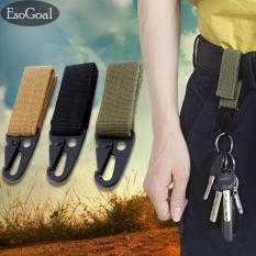 Jual Esogoal Taktis Gear Clip Nylon Key Keeper Keychain Untuk Tas Molle Anyaman Sabuk Tali Pengikat Set 3 Hitam Dril Hijau Tentara Tiongkok