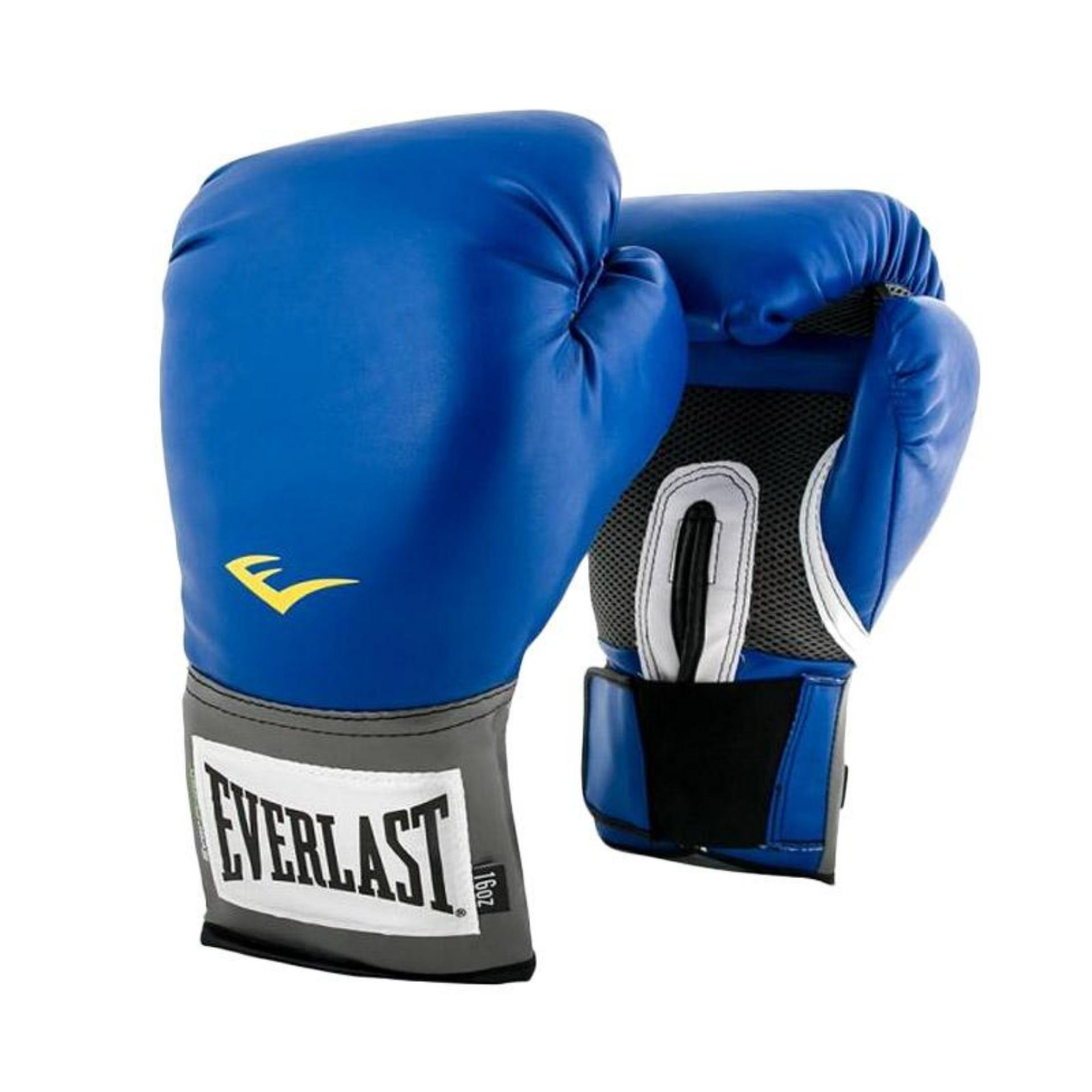 Everlast Pro Style Training Glove 14 Oz - Blue By Everlast Official Store.