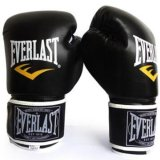 Harga Everlast Tinju Profesional Muay Thai Pelatihan Sarung Tangan 12Oz Hitam