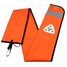Situs Review Ezdive Smb 014 Scuba Diving Smb Keselamatan Sosis 1 4 M 400D Nilon Permukaan Peralatan Penanda Pelampung Oranye