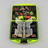 Jual Fabulous 24 Kinds Assorted Saltwater Tackle Box Jig Swivels Hooks Fishing Accessories Intl Oem Murah