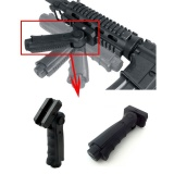Ulasan Hebat Tactical Folding Vertikal Forward Foregrip Grip For Picatinny Rail Outdoor