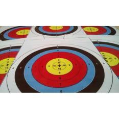 Face Target Panahan / Print Target 40X40cm - Cc557c