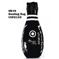 Fairtex UNFILLED HB10 - Bowling Bag Black Heavy Punching Bag for Muay Thai Kick Boxing MMA K1 - intl