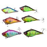 Beli Fancytoy 6 Pc Vib Lures Fishing Lure 6 Warna Memancing Umpan Bass Hook 6 13 1G 6 Cm 2 4 Online Indonesia