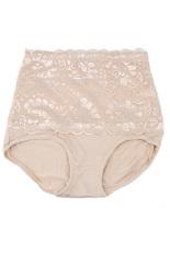 Fang Fang Wanita Tubuh Shaper Hip Perut Tummy Kontrol Panties Celana Pinggang Tinggi (Kulit)