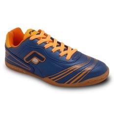 Ulasan Lengkap Fans Crv O Sepatu Olahraga Futsal Sepak Bola Pria Biru Orange