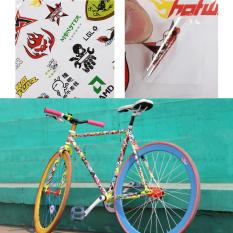 Fashion Sepeda Scooter Scrapbook Sticker BMX Mountain Road Bike Decal Stiker-Intl