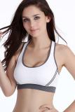 Spesifikasi Fashion Wanita Rompi Olahraga Lari Bh Mendongkrak Tangki Olahraga Kebugaran Yoga Croptop Top Putih Baru
