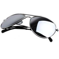 Ulasan Lengkap Modis Uv400 Penerbang Kacamata Hitam Vintage Retro Bingkai Logam Matahari Kacamata Lensa Cermin Reflektif Untuk Wanita China Pria Wanita Hitam