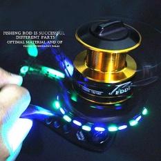 FDDL 10 + 1BB 1000-6000 Seri Tinggi Kualitas Memancing Memancing Reel Roda Ikan dengan Emitting LED 3000- INTL