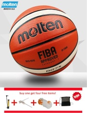 Jual Fiba Resmi Gg7X Ukuran 7 Pu Bahan Basketball Ball Outdoor Latihan Indoor Balon Gratis With Tas Bersih Pin And Inflator Murah Tiongkok