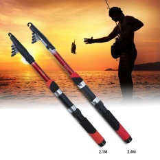 Pusat Jual Beli Fiber Teleskopik Fishing Pole Portable Multi Ukuran Casting Sea Fishing Rod Pro 2 4 M Intl Tiongkok