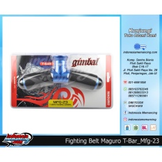Fighting Belt Maguro Model T-Bar Mfg-23 (Sabuk Joran Mancing)