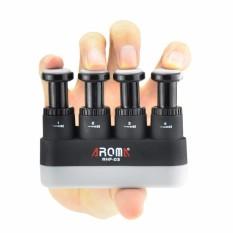 Penguat Jari Wrist Developer 4 Ketegangan Adjustable Hand Grip Exerciser Ergonomis Trainer Silicone Terapi Arthritis dan Grip Panjat Tebing untuk Gitar Piano Jari Pemicu Pelatihan-Intl