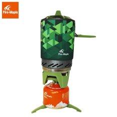 Fire Maple 1L 600G Outdoor Peralatan Berkemah Hiking Oven Portabel Terbaik Gas Propana Kompor Burner FMS-X2-Intl
