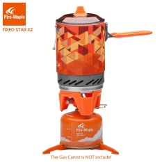 Review Toko Fire Maple Memasak Pribadi Outdoor Hiking Camping Equipment Oven Portable Best Propane Gas Kompor Burner 1L 600G Fms X2 Intl