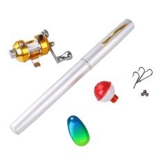 Ulasan Lengkap Tentang Ikan Teleskopik Pena Aluminium Alloy Pancingan Dengan Reel Pocket Set Intl