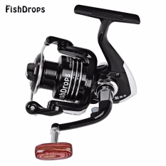 Fishdrops Size 3000 Metal Reel Spinning Fishing Tackle with 13BB One Way Clutch - intl