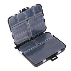 Fishing Lure Bait Tackle Kotak Kompartemen Pocket Portable Kotak Penyimpanan-Intl