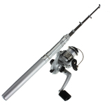 Jual Fishing Rod Teleskopik Portabel Mini Perak Oem Grosir