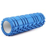 Cuci Gudang Fitness Floating Point Eva Yoga Foam Roller For Physio Massage Pilates Blue