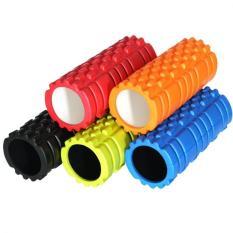 Fitness Gym Latihan EVA Yoga Foam Roller untuk Fisio Pijat Pilates Tight Otot (biru)-Intl
