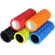 Fitness Gym Latihan EVA Yoga Foam Roller untuk Fisio Pijat Pilates Tight Otot (hijau)-Intl